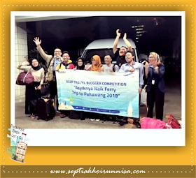 Berangkat menuju Pelabuhan Merak Banten