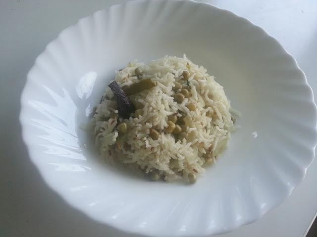 Peas Pulav