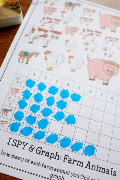 preschool math printable