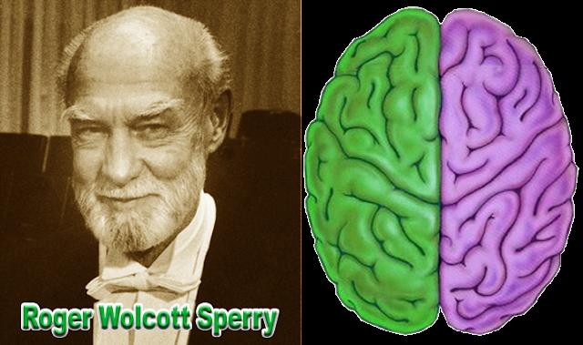 Foto Roger W. Sperry sang penemu otak kiri dan otak kanan