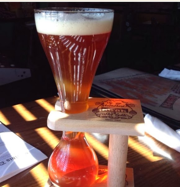 Kwak at Ashley's Belgian Beer Festival