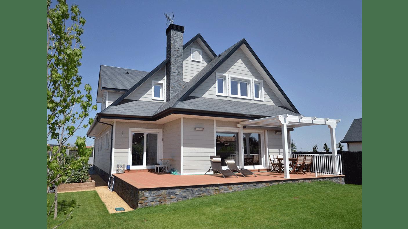 Revista digital apuntes de arquitectura casas de madera - Casas prefabricadas sostenibles ...