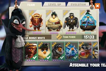 Angry Birds Evolution Mod Apk 1.23.0 Data (High Damage+God Mode)