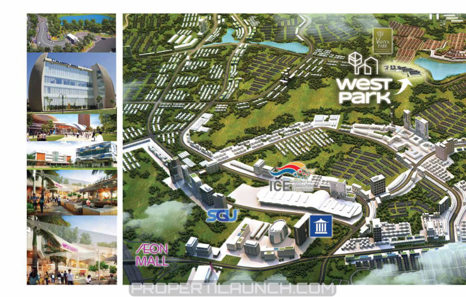 Lokasi Ruko West Park BSD