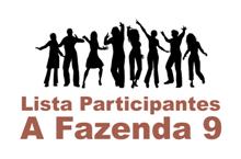 Lista de Participantes da Fazenda 9