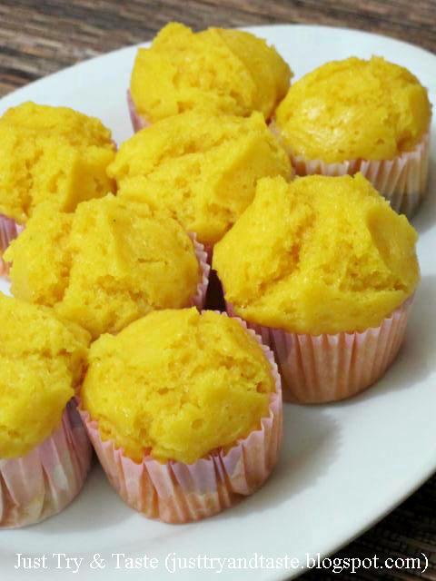 Resep Kue Mangkuk Ubi Kuning JTT