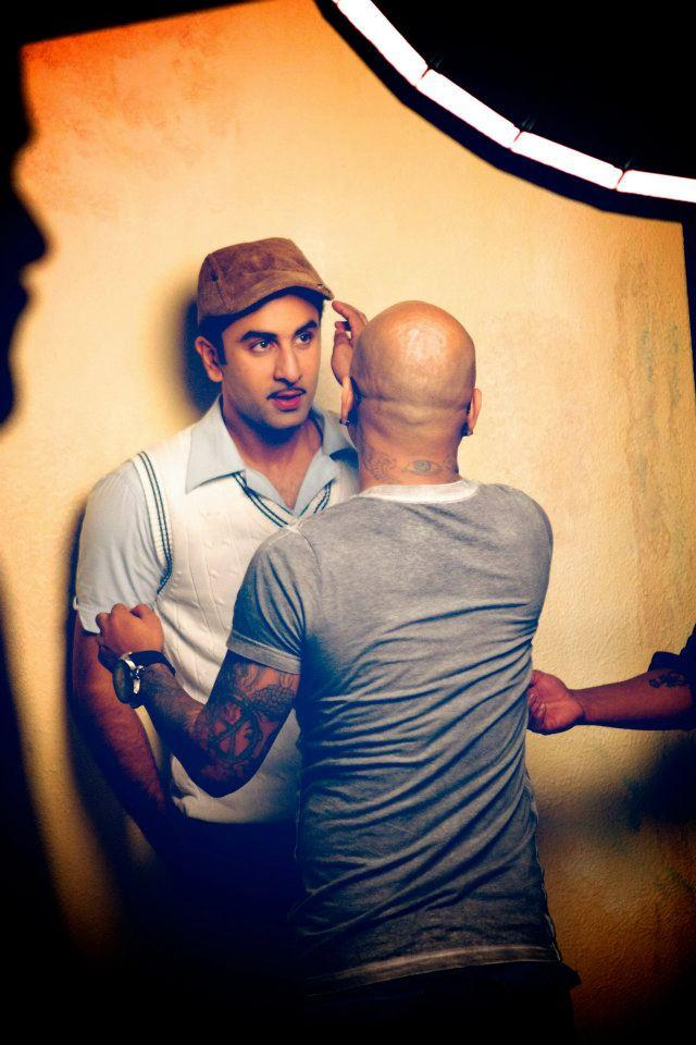 Ranbir Kapoor On The Sets Of Barfi ~ HOTWEB