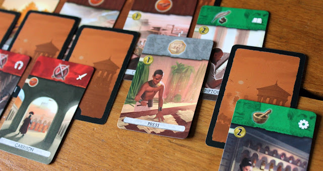 7 Wonders: Duel review - uncovered cards