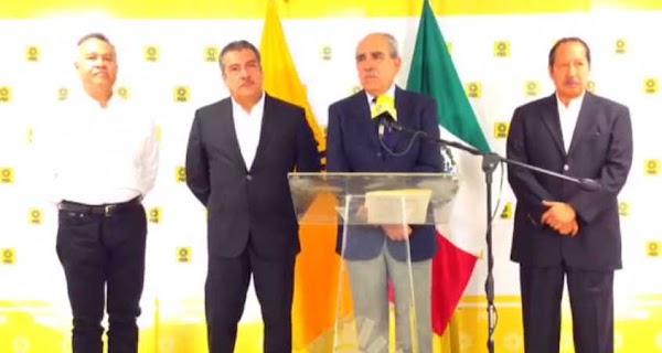 Líderes nacionales del PRD anuncian respaldo a AMLO, construirán comités de Morena
