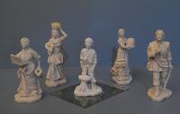 statuine da colorare presepe personalizzato pastorelli fatti a mano orme magiche