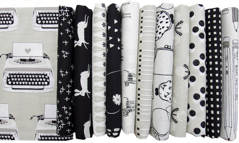 Black and White by Cotton + Steel | Red Pepper Quilts