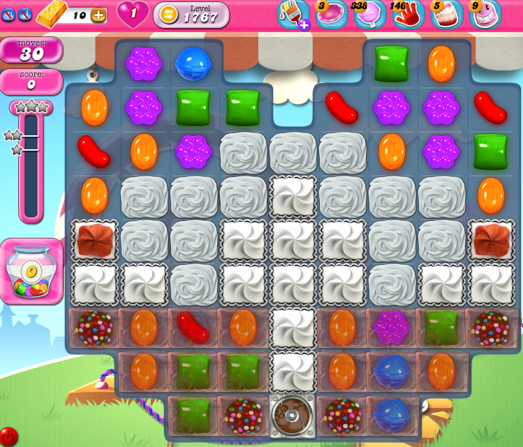 Candy Crush Saga 1767