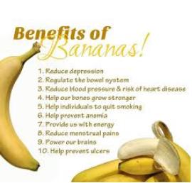 Top List Of Benefits Of Banana