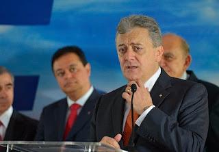 Aldemir Bendine trabajó durante las presidencias de Lula da Silva y Dilma Rousseff. Lo investigan por el presunto desvío de al menos un millón de dólares