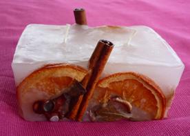 Κερί με αποξηραμένα φρούτα και καρπούς