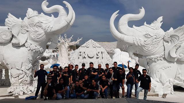 Gathering Bersama Mitra Distribusi PT. Topindo Solusi Komunika di Thailand