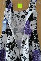 auf: mixinni® Damen A-Linie Kurz Rockabilly Kleid 1950er Vintage Faltenrock Cocktail Partykleid Sommerkleid