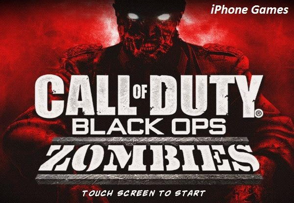 Call of Duty Black Ops Zombies IPA Download iPhone Game
