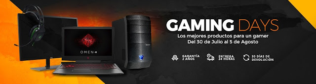 Top 15 ofertas Gaming Days PcComponentes verano 2018
