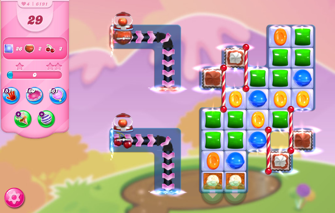Candy Crush Saga level 6191