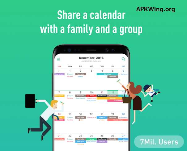 TimeTree - Free Shared Calendar 4.4.8 APK