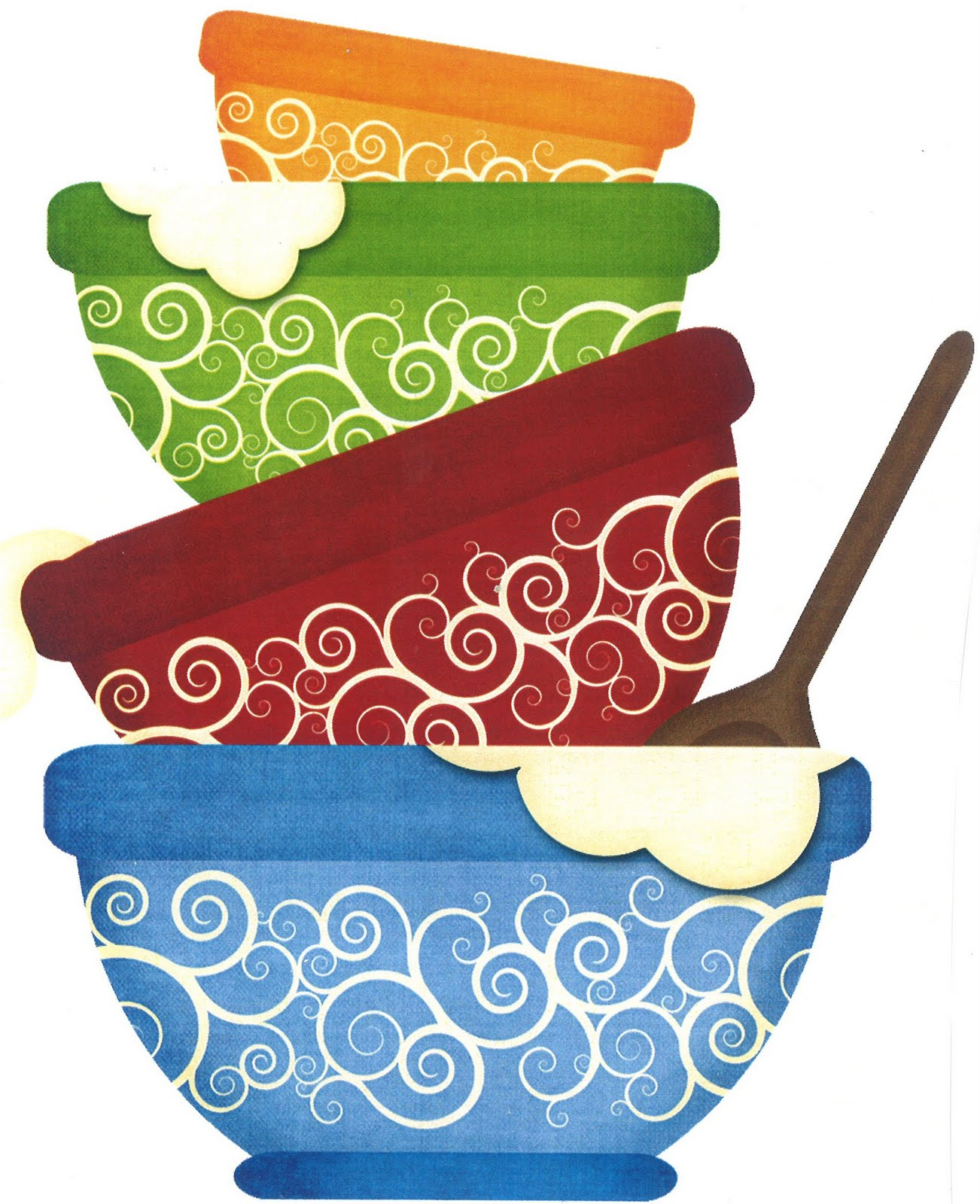 cooking bowl clipart - photo #4