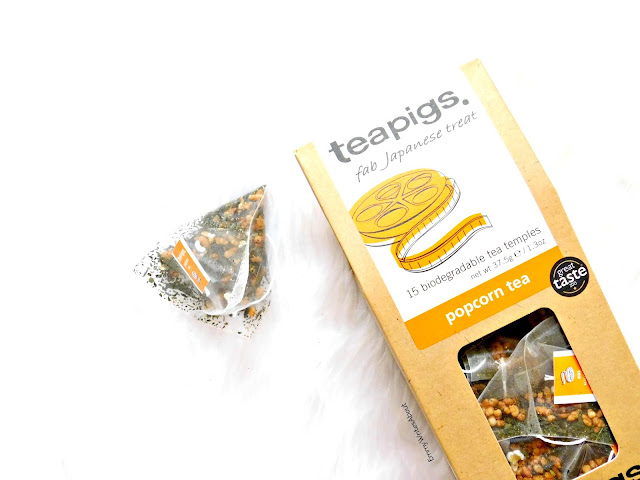 Teapigs popcorn tea Review