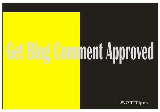 Blog  Comment Approved
