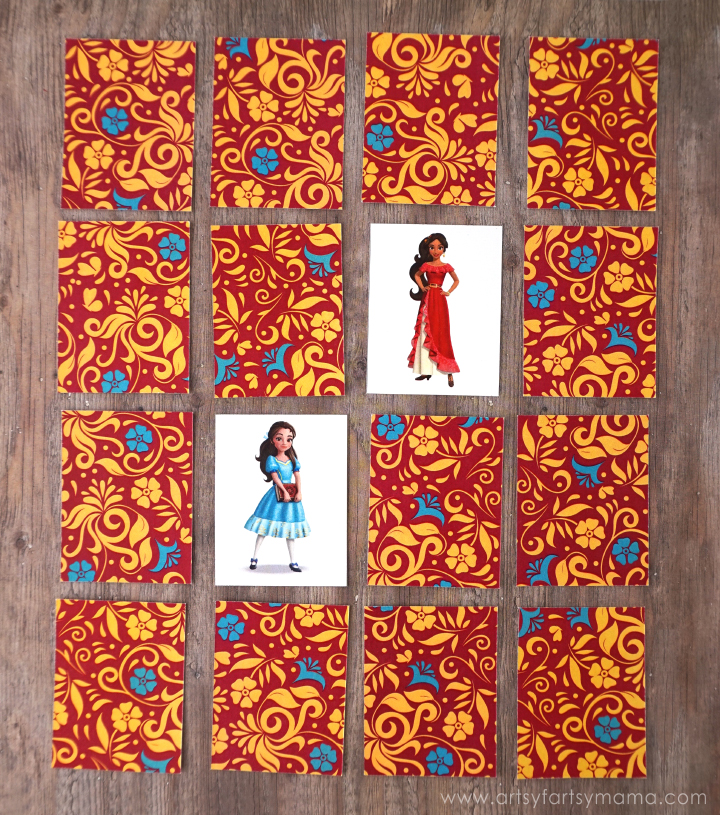 Free Printable Elena of Avalor Match Game at artsyfartsymama.com #PlayLikeHasbro