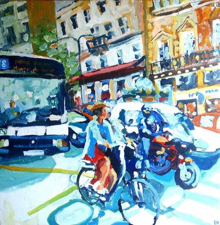 Яркие картины. Kika Selezneff Aleman