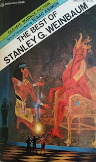 Book cover to The Best of Stanley G. Weinbaum.