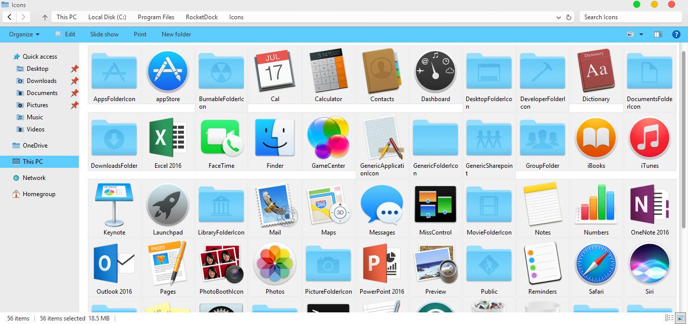 Hướng dẫn ghim ứng dụng Windows 10 vào RocketDock - Ảnh 2
