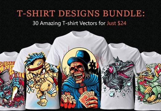 30 Amazing Vector T-shirt Designs