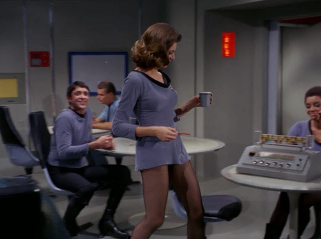 Mini Skirts in 'Star Trek' (1966) ~ vintage everyday
