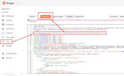 Cara Mendaftarkan Blog ke Google Webmaster Tools atau Google Search Console