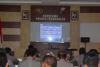 Wakil Bupati Trenggalek H. Moch Nur Arifin Hadiri Video Conference Polres Bersama Kapolri, Tentang Kesiap Siagaan Kebakaran Hutan