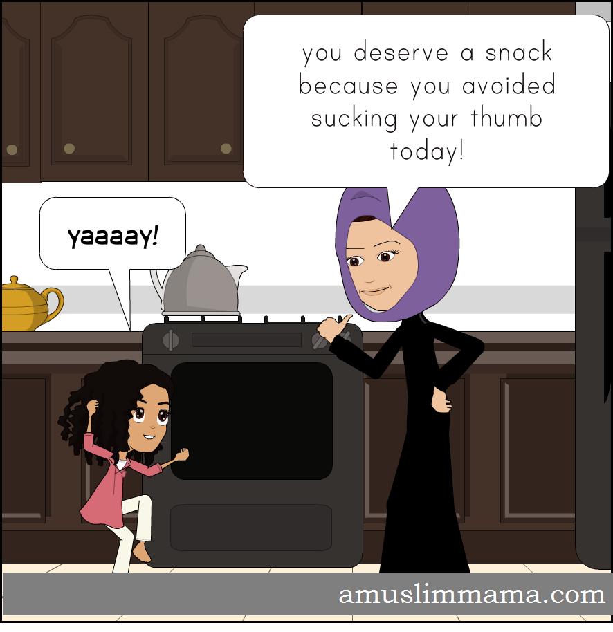 how to break thumb sucking