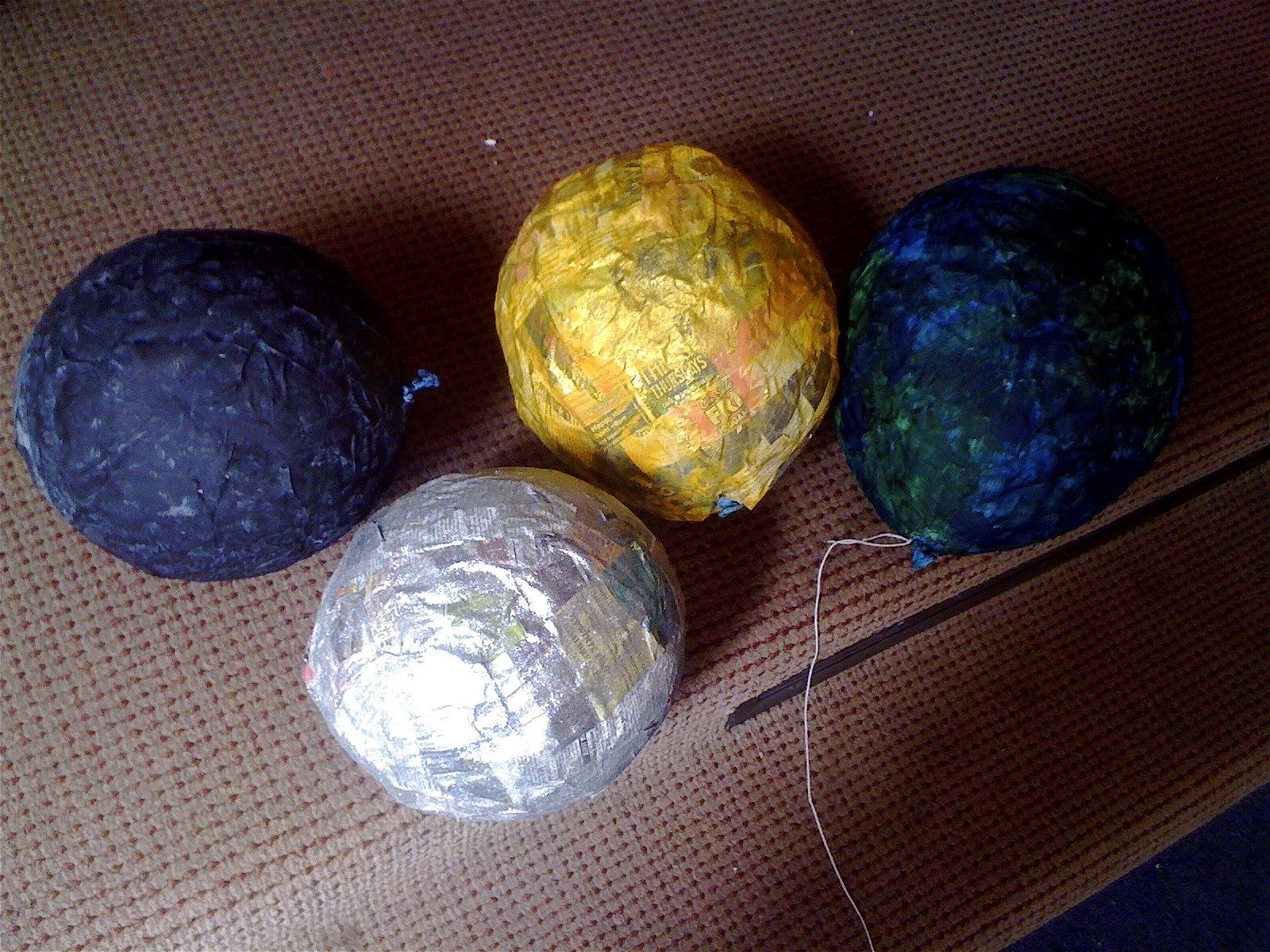 paper mache planet venus - photo #10