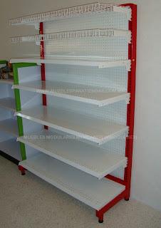 Estanteria metalica muebles metalicos y anaqueles for La gondola muebles