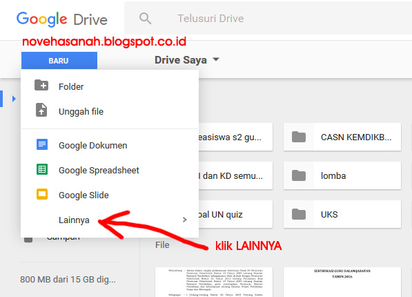 cara membuat soal atau kuis online di google drive untuk ujian atau tes siswa sangat mudah. baca tutorial ini 11
