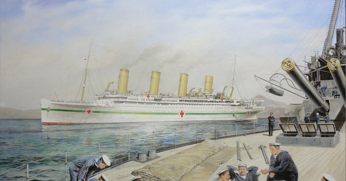 The Art of Jeremy Day HMHS Britannic