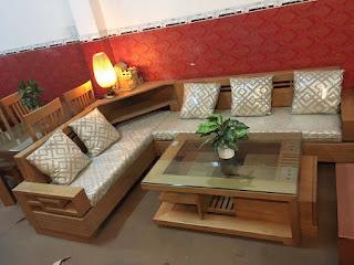 Salon gỗ tự nhiên