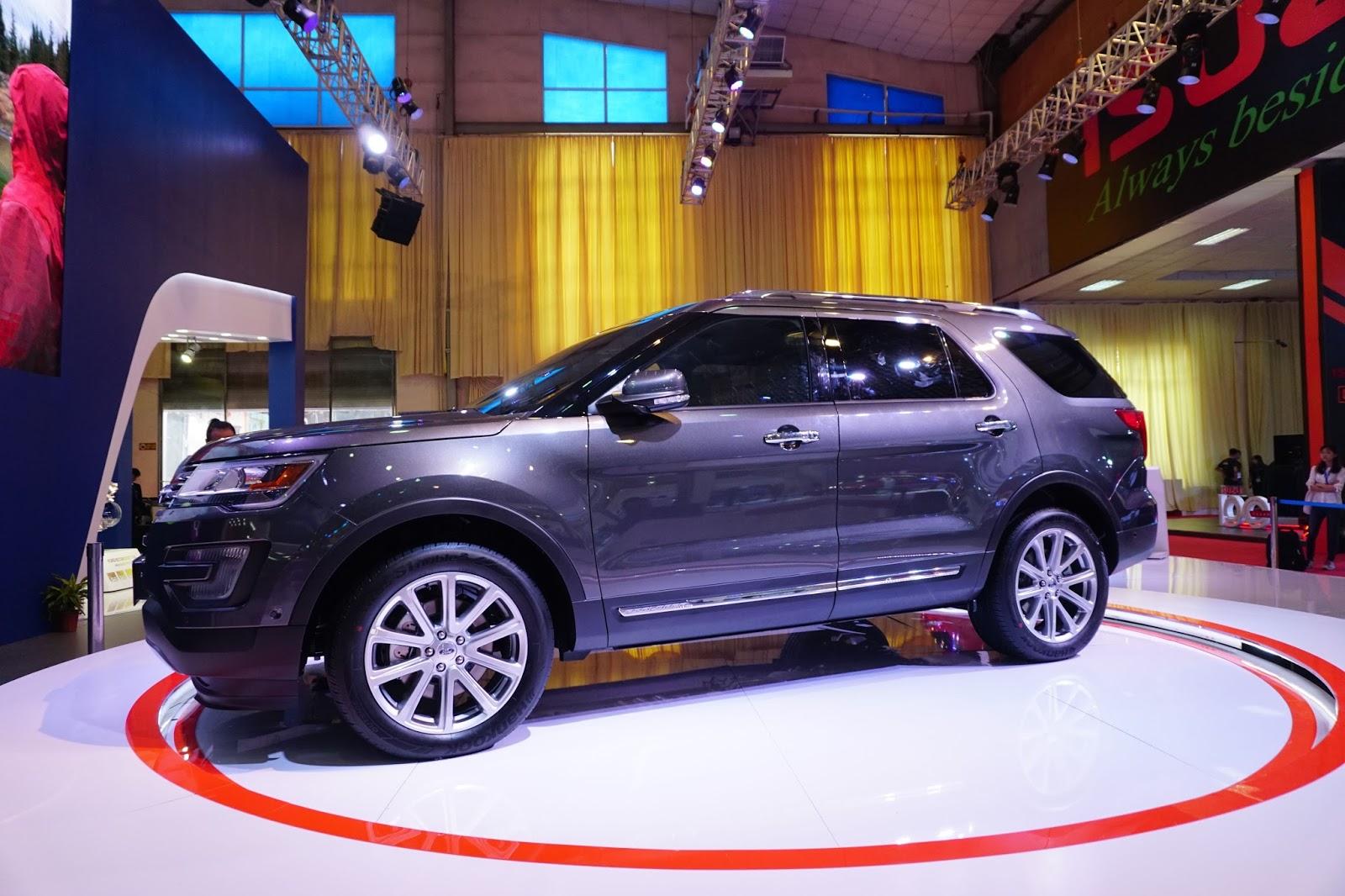 Ford Explorer 2016 là chiếc SUV sáng nhất của Vietnam Motor Show năm nay