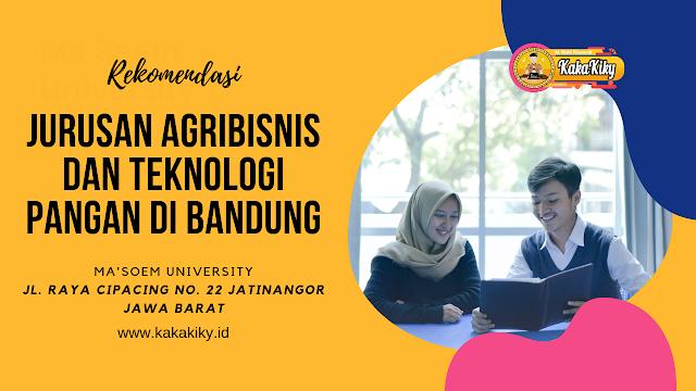Jurusan Agribisnis Dan Teknologi Pangan Di Bandung Serta Prospek Kerja