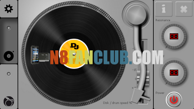 DJ Turntable 1 2 Symbian^3 - Free App Download