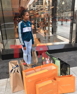 NBA Youngboy Takes Jania On A Shopping Spree