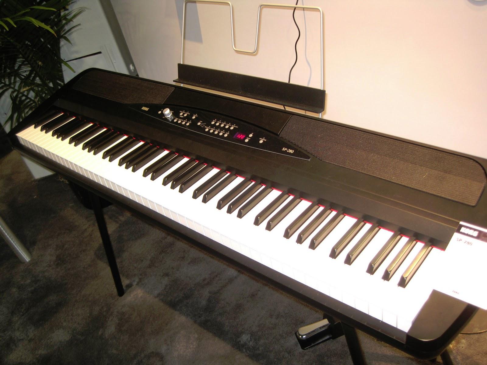 az piano reviews review korg lp380 korg sp280 digital pianos 2019. Black Bedroom Furniture Sets. Home Design Ideas