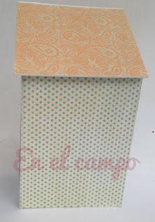 nichoir cartonnage birdhouse cartonnage tutorial casita de pájaros en cartonaje