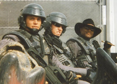 Starship Troopers detrás de las cámaras