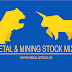 Metal & mining stocks mixed